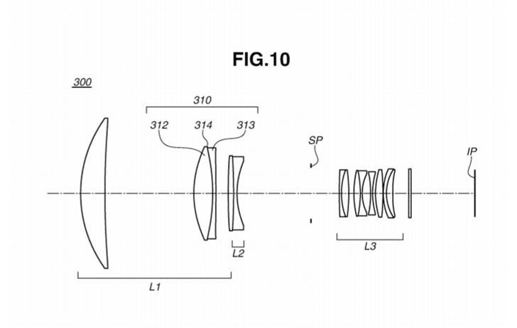 Patent: More Diffractive Optics Supertelephoto Formulas