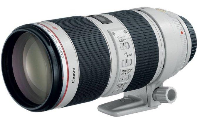 EF 70-200mm f/2.8L IS II