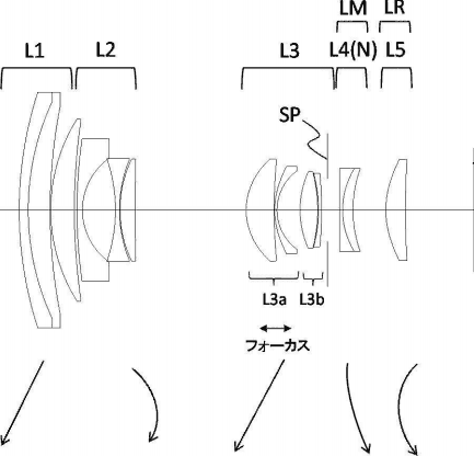 Canon patent for EF-M 16-80mm f/2-6 STM lens (EOS M system