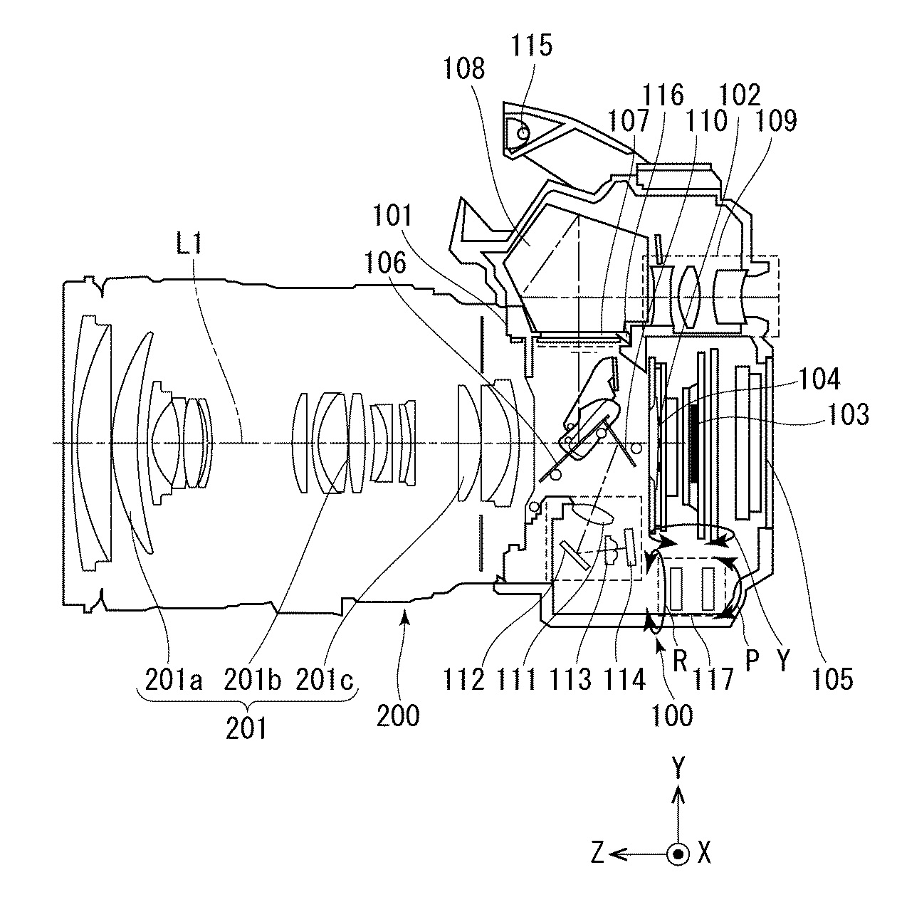 Canon Patent For RF 90mm f/2.8L IS Macro Lens (EOS R