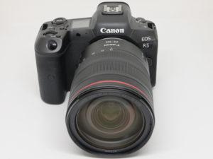 Canon EOS R5 zebra peaking