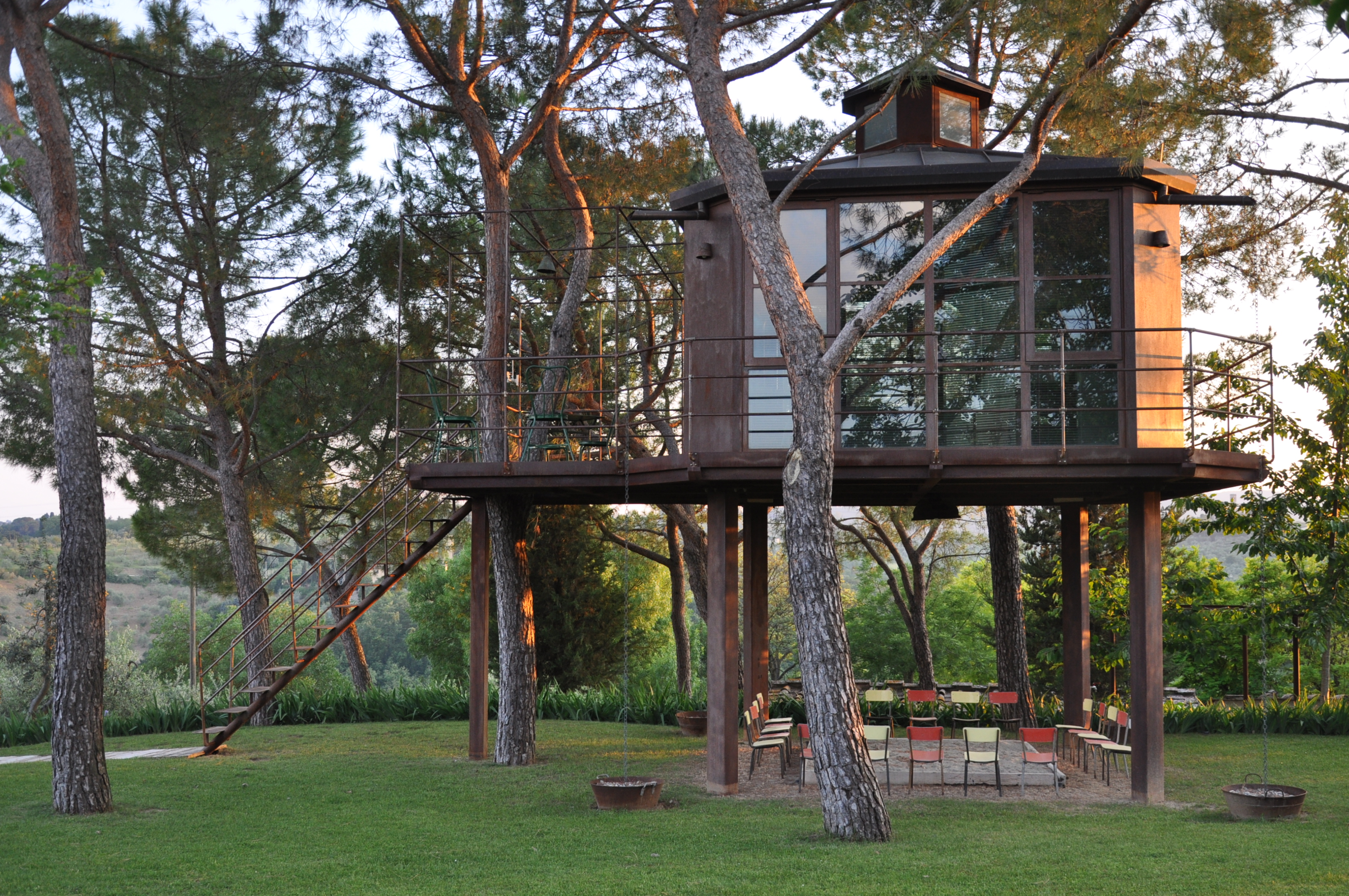 Treehouse at Casa Barthel  Canopy  Stars