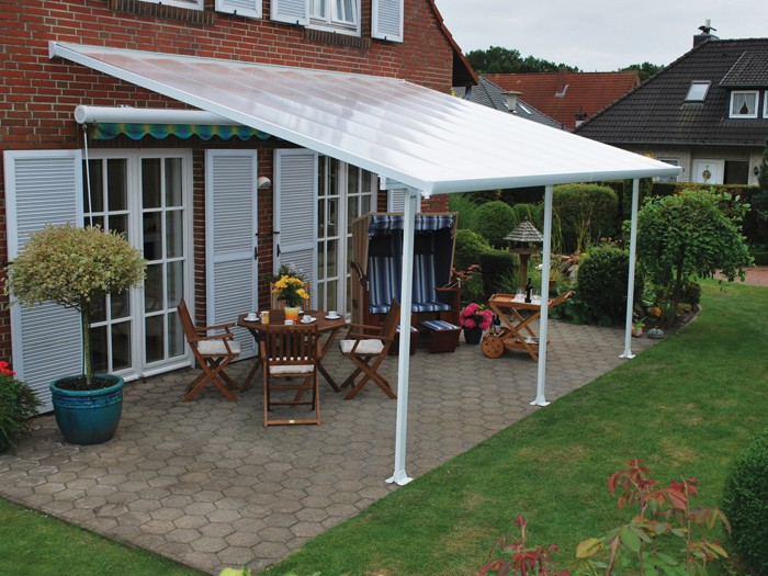 10 X 24 Feria 4200 Patio Cover Canopy wPolycarbonate Panels