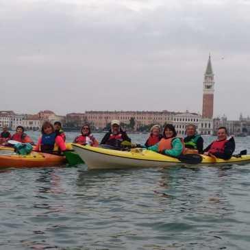 Canoa-kayak: Escursione alla Giudecca