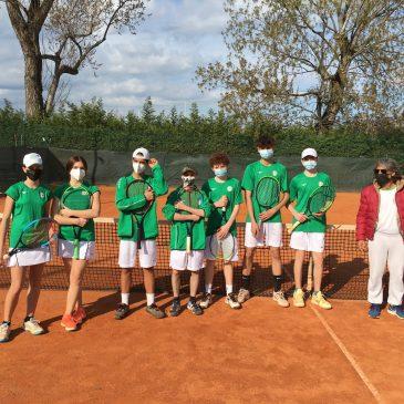 Tennis: ragazze alla fase regionale