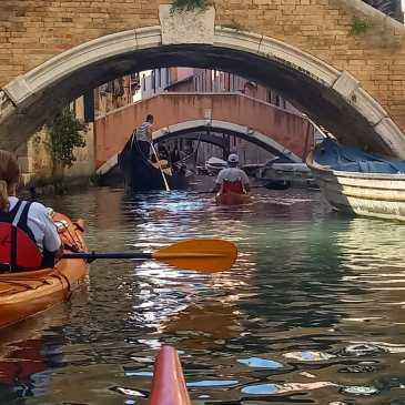 Canoa-kayak: a S. Erasmo con gli amici del Kayak Sarnico