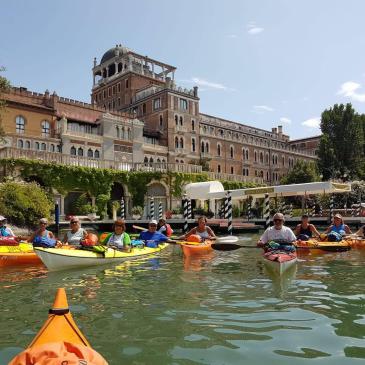 Canoa-kayak: escursione al Lido di Venezia