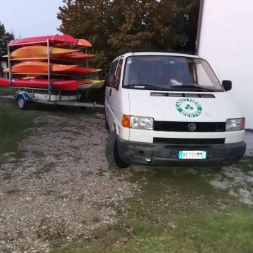 Canoa-kayak: Fine settimana sul Delta