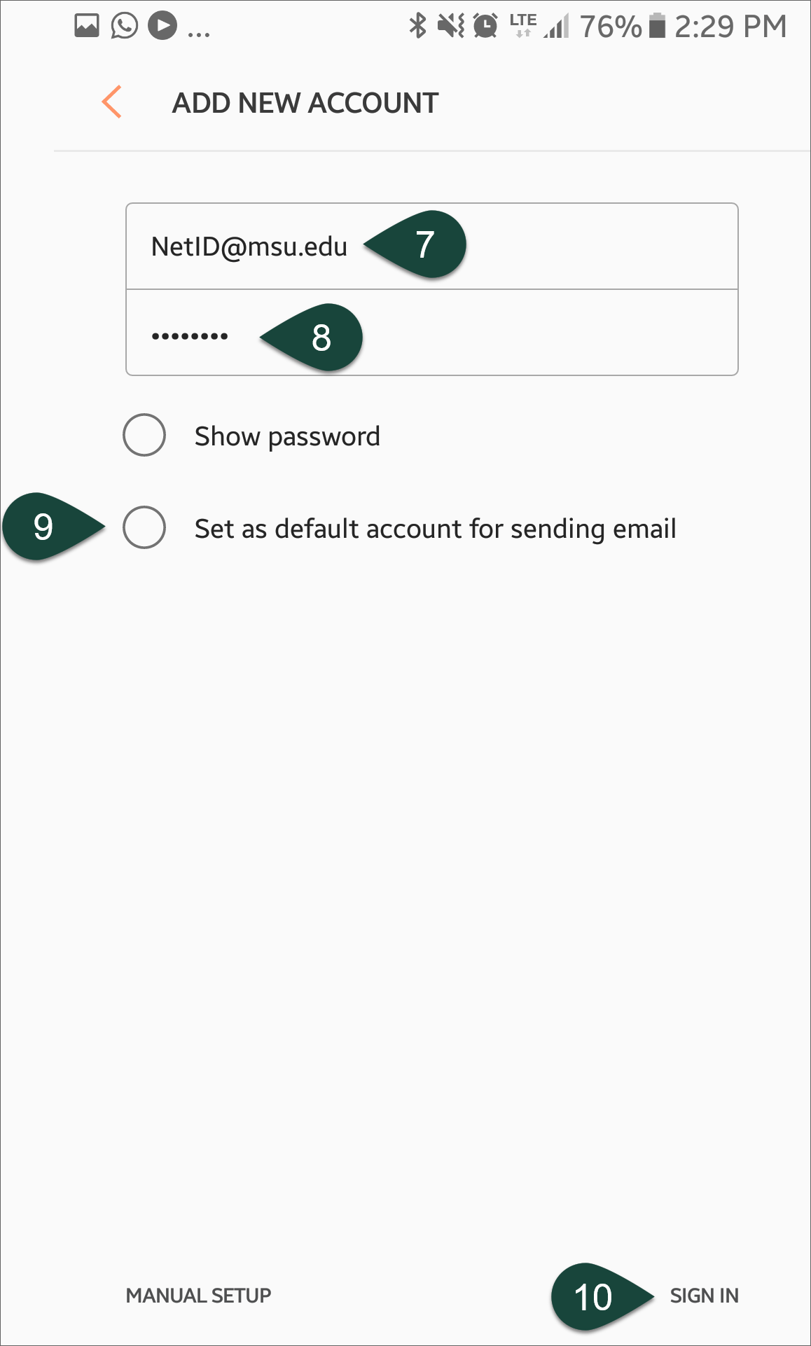 Configuring Email on Samsung Android Devices (Office 365