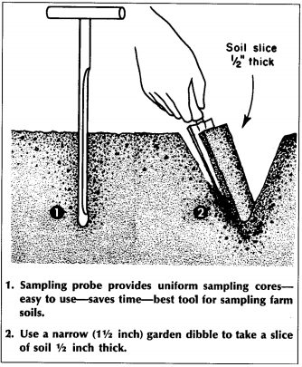 Sampling Soils for Fertilizer and Lime Recommendations and