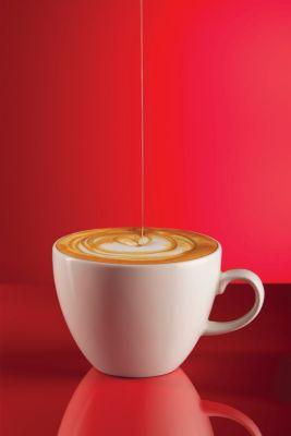 red espresso cappucino