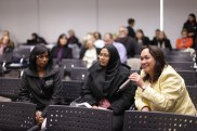 Questions and answers during panel discussion