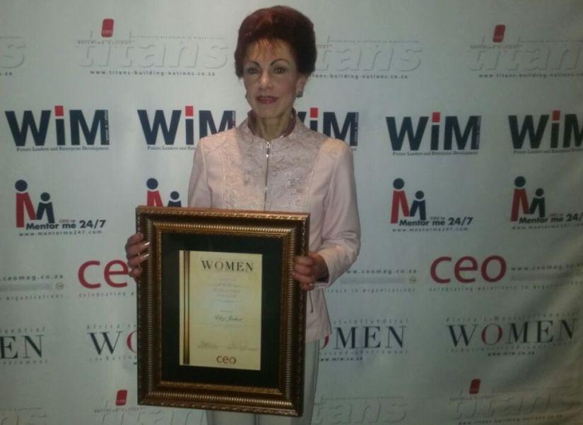 Elize Joubert Award