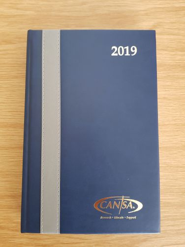 Diary A5 - cost R250