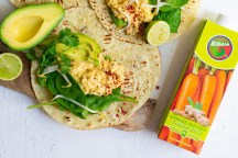 Spicy-Carrot-Ginger-Chickpea-Wraps