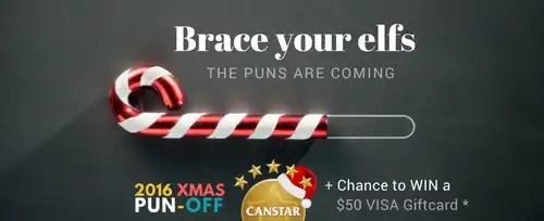 christmas pun off 2016