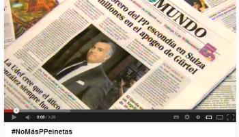 El PSOE resume en un vídeo las mentiras del PP en el 'caso Bárcenas'