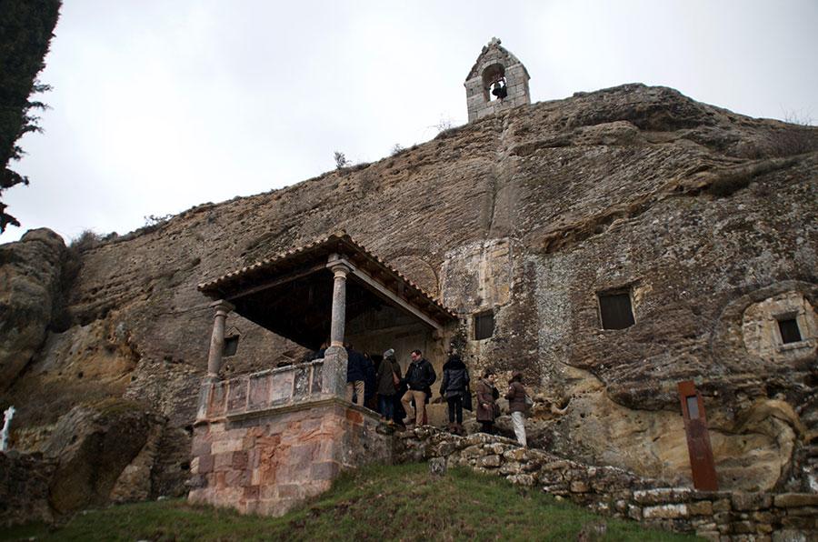 Ermita Rupestre de Santos Justo y Pastor, Olleros de Pisuerga