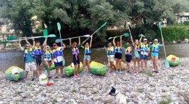 Descenso del rio Deva en piraguas