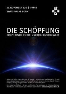 """Plakat """"Die Schöpfung"""""""
