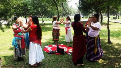 Círculo de Danzas Sagradas Femeninas, DF México