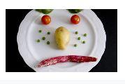 piatto allestito