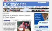 screenshot de Il Giunco.net