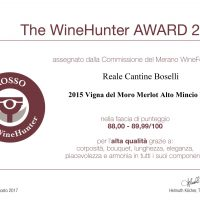 The WineHunter Award VIGNA DEL MORO