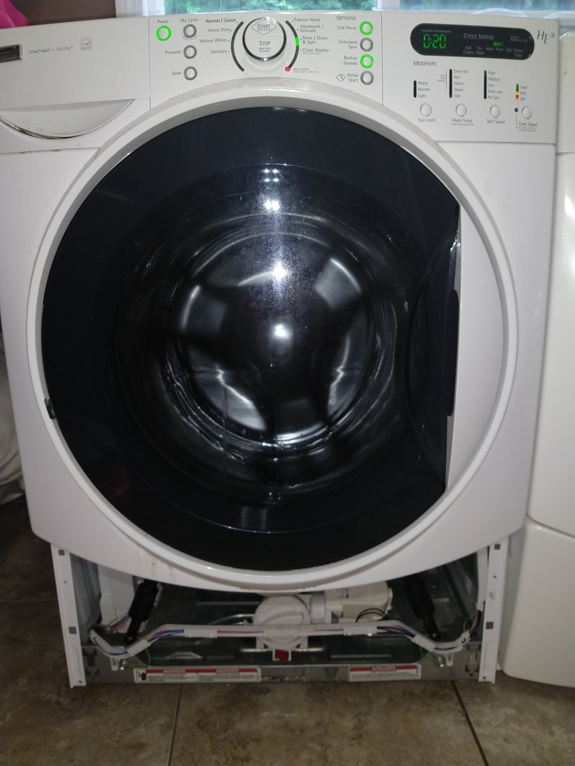 Kenmore Elite Washer Repair FRONT LOAD. Located In North