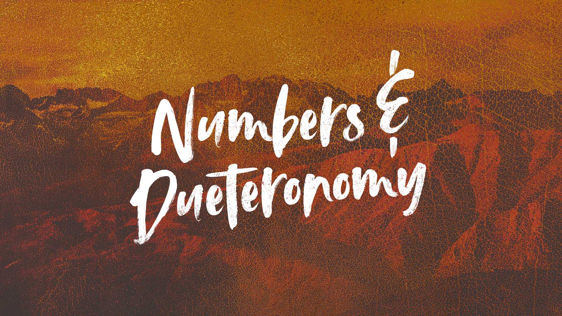 Numbers and Deuteronomy- Session 10- Living the Great Commandment