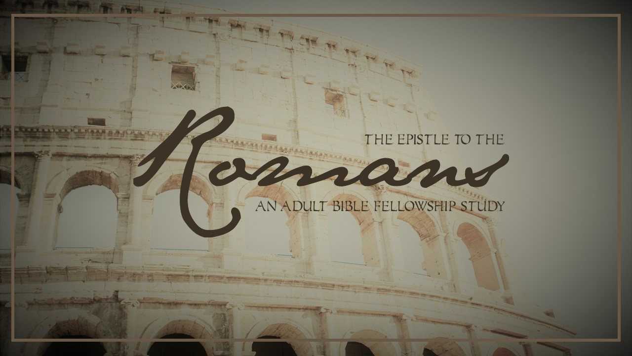 Romans- Session 3- Insufficient
