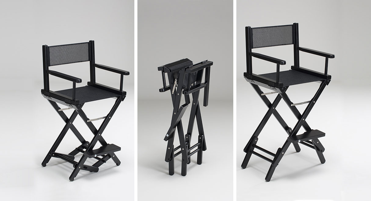 personalized makeup artist chair covers rental okc the original by cantoni
