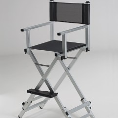 Make Up Chair Walmart Camp The Original Makeup Artist By Cantoni A 2h Dual Height In Aluminium