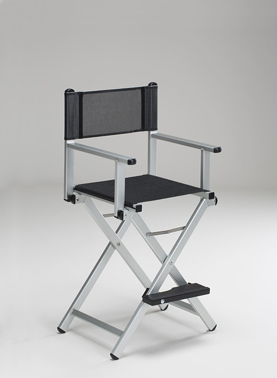 personalized makeup artist chair used aeron chairs the original by cantoni a in aluminium