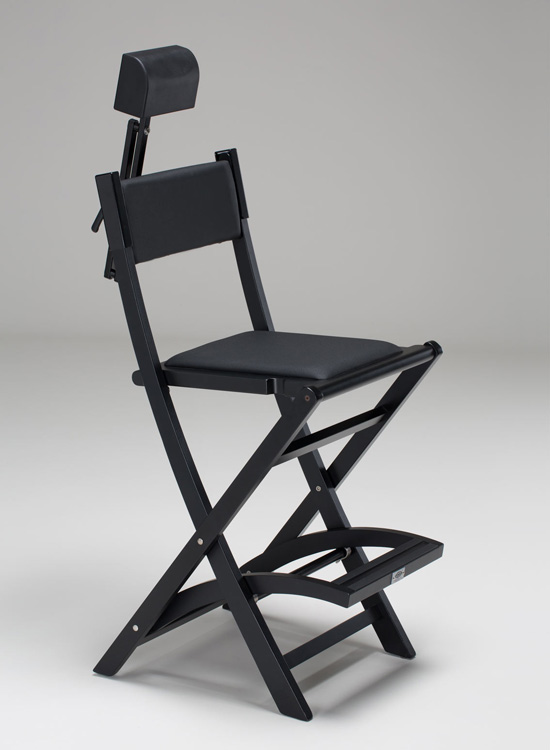 make up chair white rocker the original makeup artist by cantoni s104 hr with removable headrest