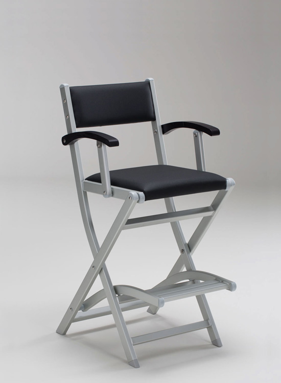 personalized makeup chair swing outdoors the original artist by cantoni a ergonomic in aluminium and wood