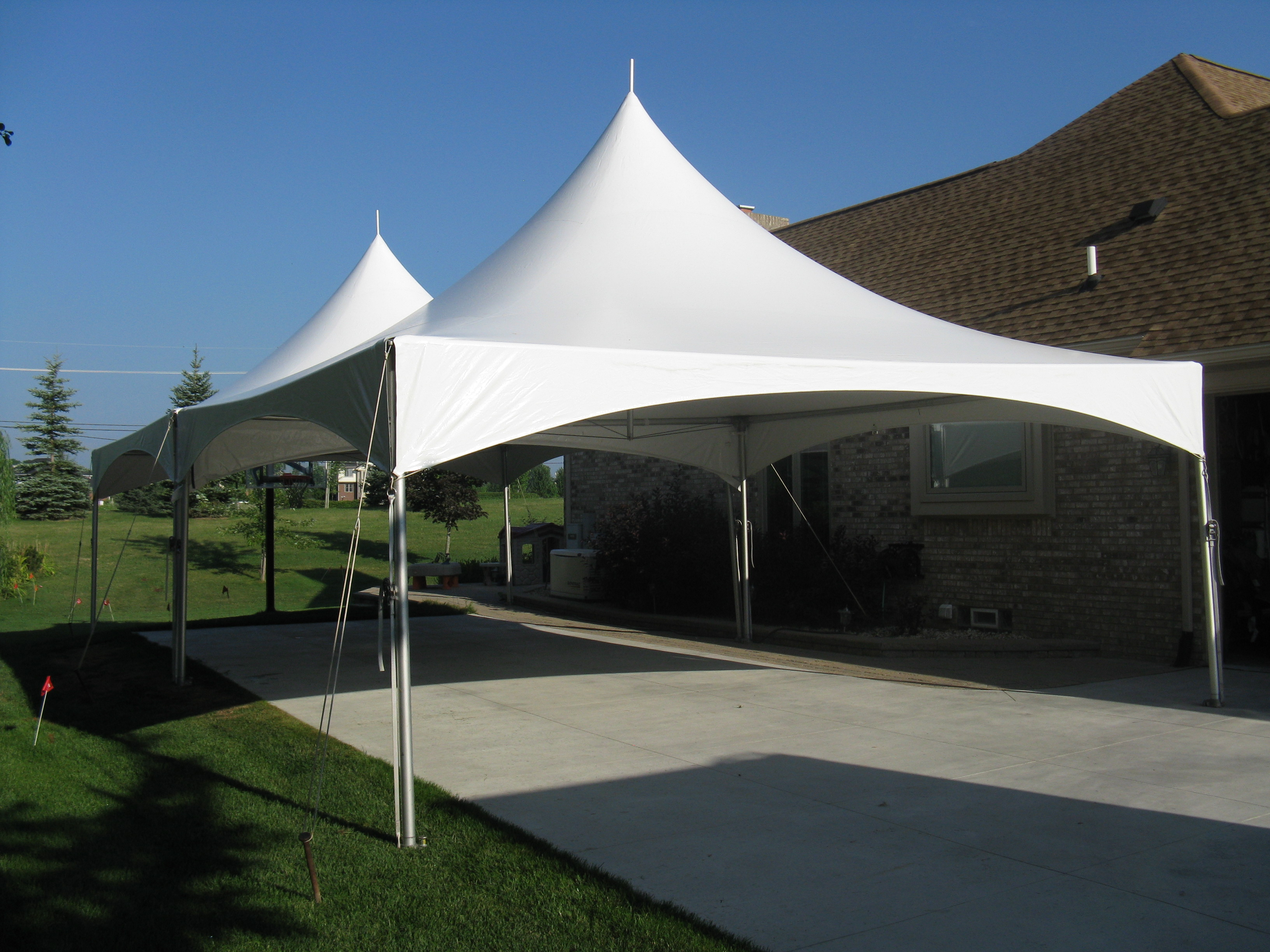 20 x 40 Frame Tent  Canton Canopy