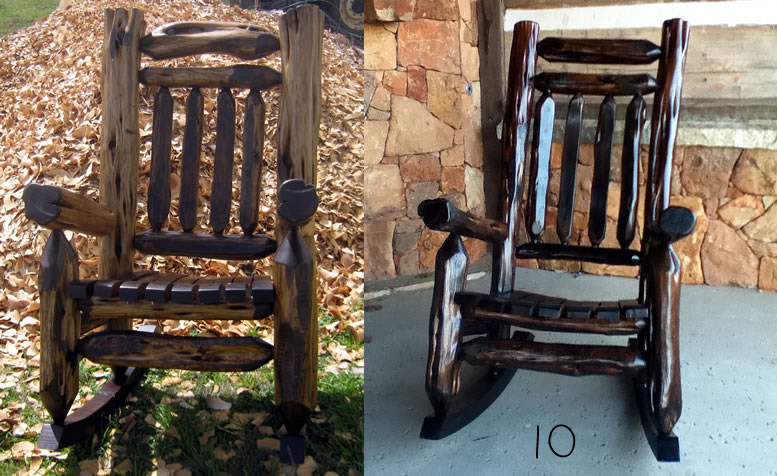 cedar rocking chairs wingback chair slipcovers rustic mountain and dining from hill print this map to find us