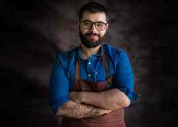Head Chef Carlos Gomes of Canto Restaurant