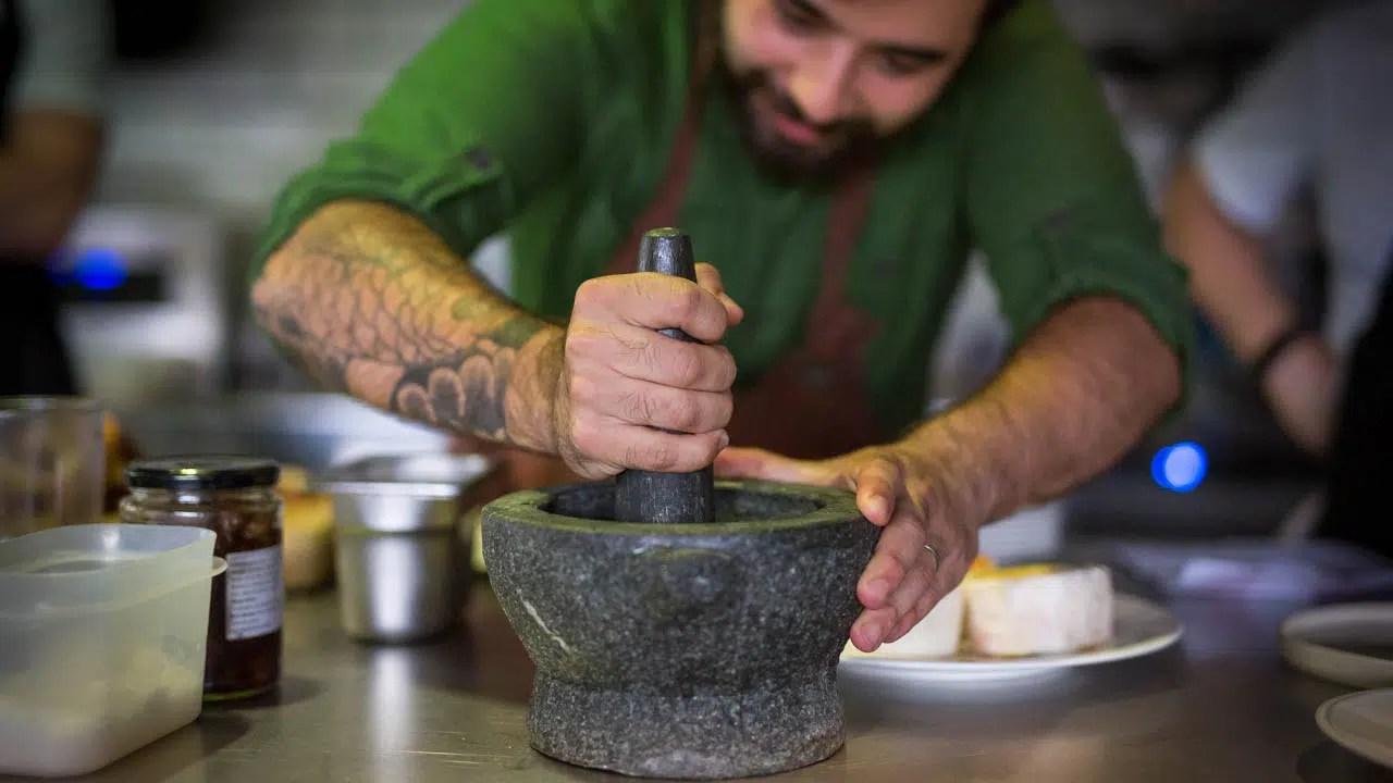 Head chef Carlos Gomes