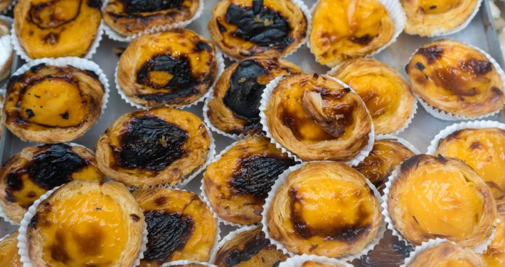 Pasteís de nata in Portugal