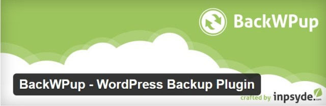 BackWPup - Top 10 wordpress plugins for business