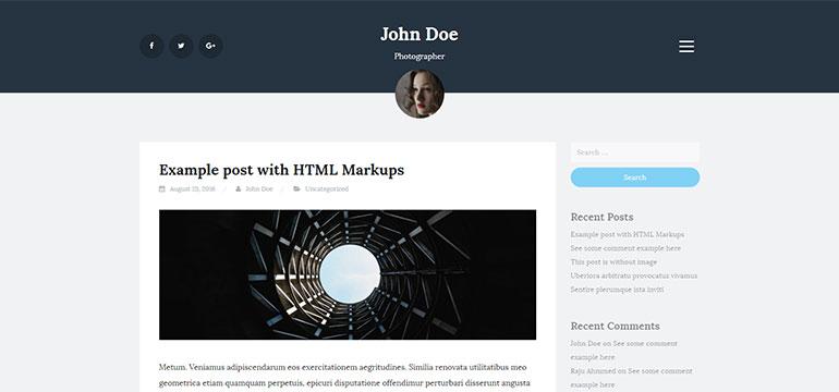 Blogi - Free WordPress Blog Theme | CantoThemes