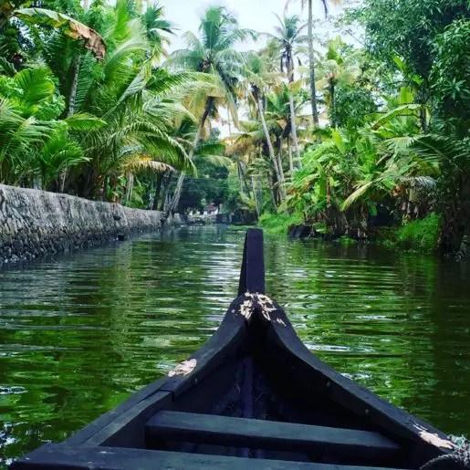Kerala canoe day trip