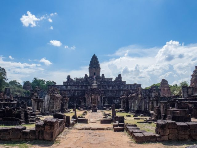 Bakong Temple - Rolous Group - Angkor Archaeological Park in Siem Reap, Cambodia