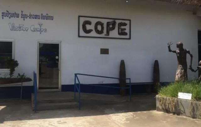 COPE Visitor Centre in Vientiane, Laos