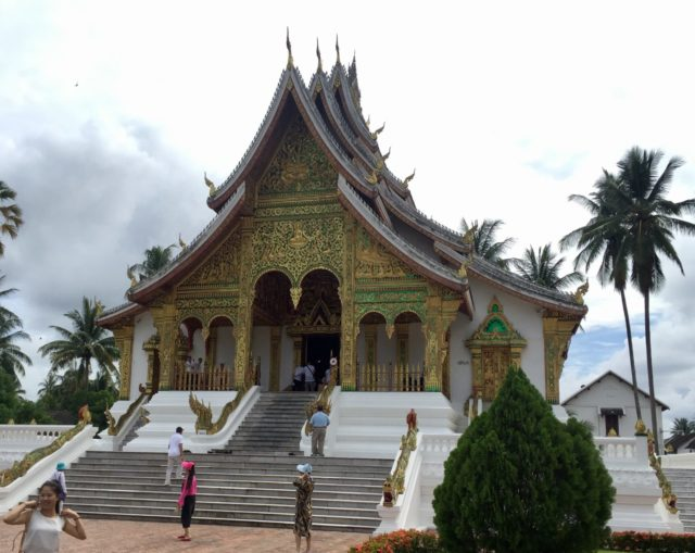 Royal Palace Museum in Luang Prabang Laos