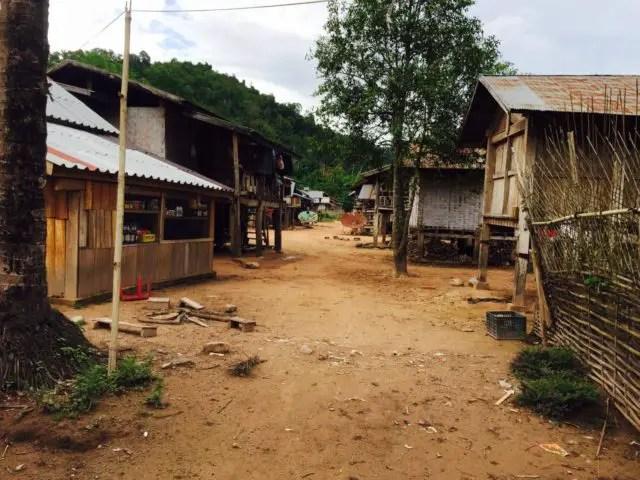Nalan Neua Village in Nam Ha NPA, Laos