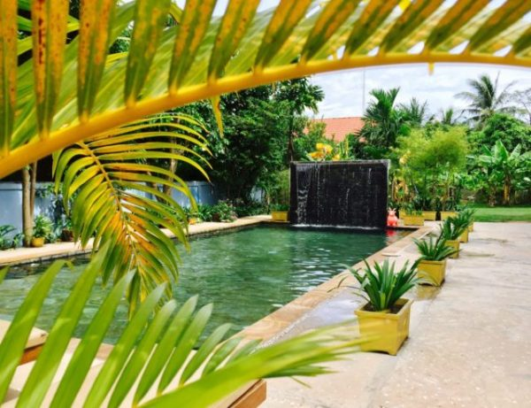 The Golden Gecko Villa Swimming Pool in Siem Reap, Cambodia