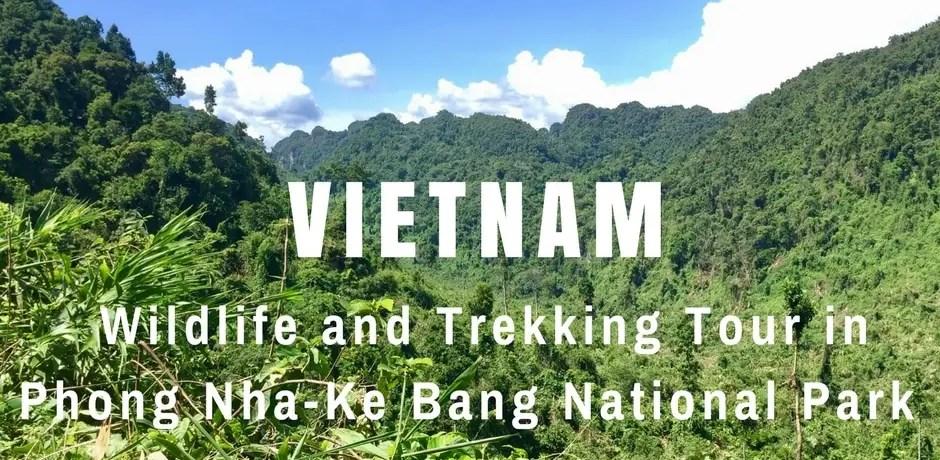 Wildlife and Trekking Tour in Phong Nha-Ke Bang National Park | Vietnam